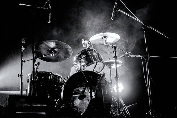 Drum кit Drum кit on the stage. drummer stock pictures, royalty-free photos & images