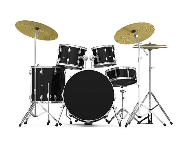 Drum Kit Isolated stock photo