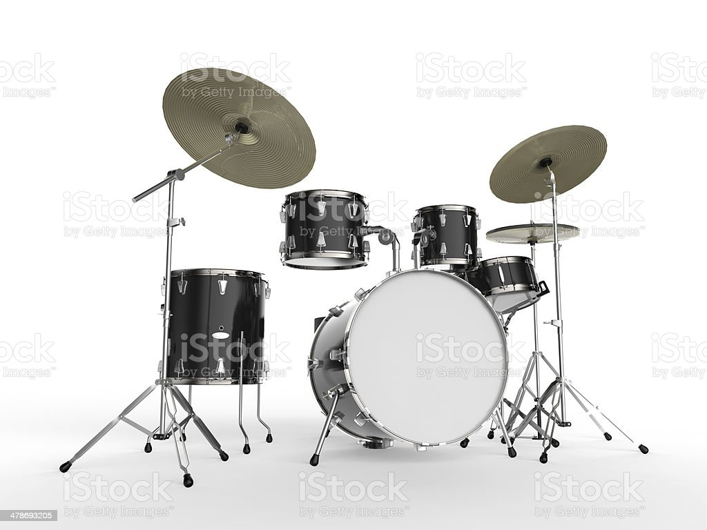 Trommel-Kit - Lizenzfrei Aufführung Stock-Foto