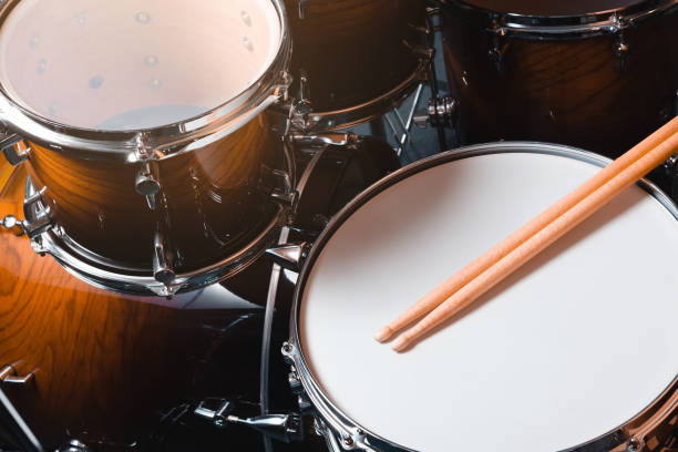 drum kit. drum kit. cymbal stock pictures, royalty-free photos & images