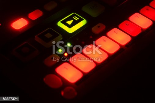 istock Drum Machine with Lighted Buttons 89527324