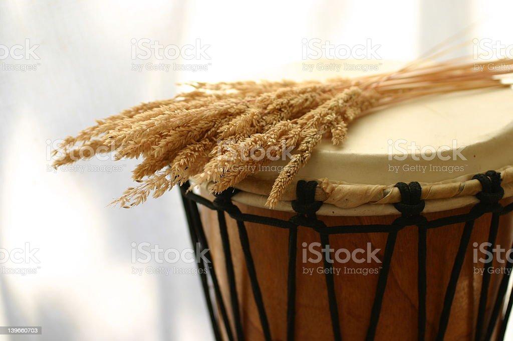 Drum royalty-free stock photo