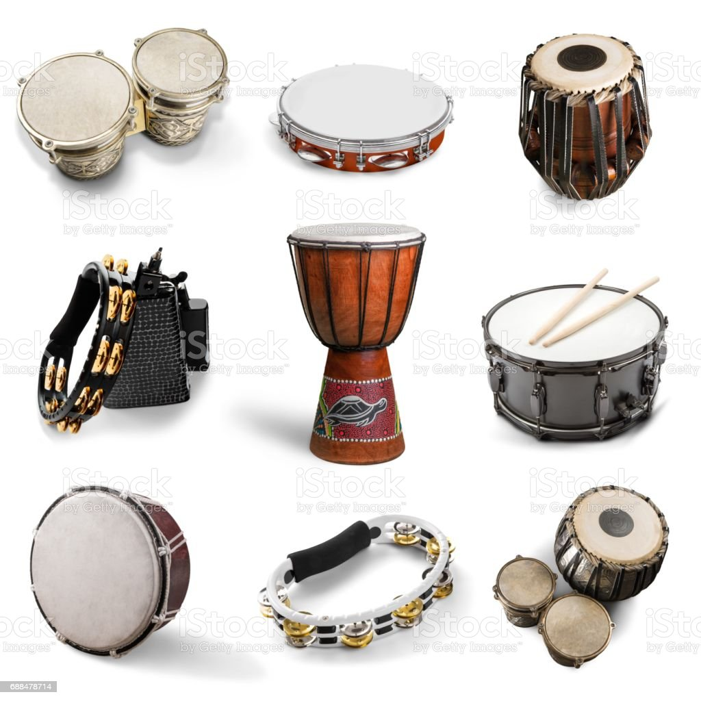 Drum. stock photo