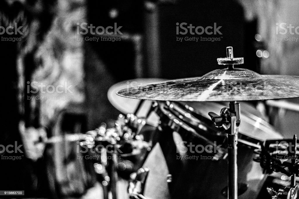 Drum Set Closeup Stock Photo More Pictures Of Adulation Istock