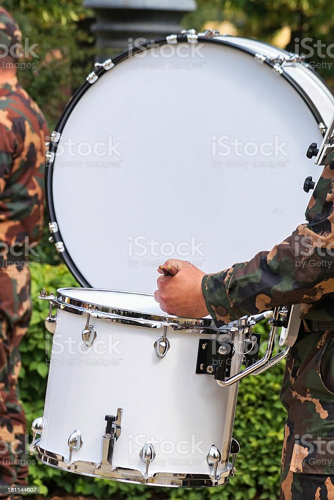 drum soldier royalty-free stock photo