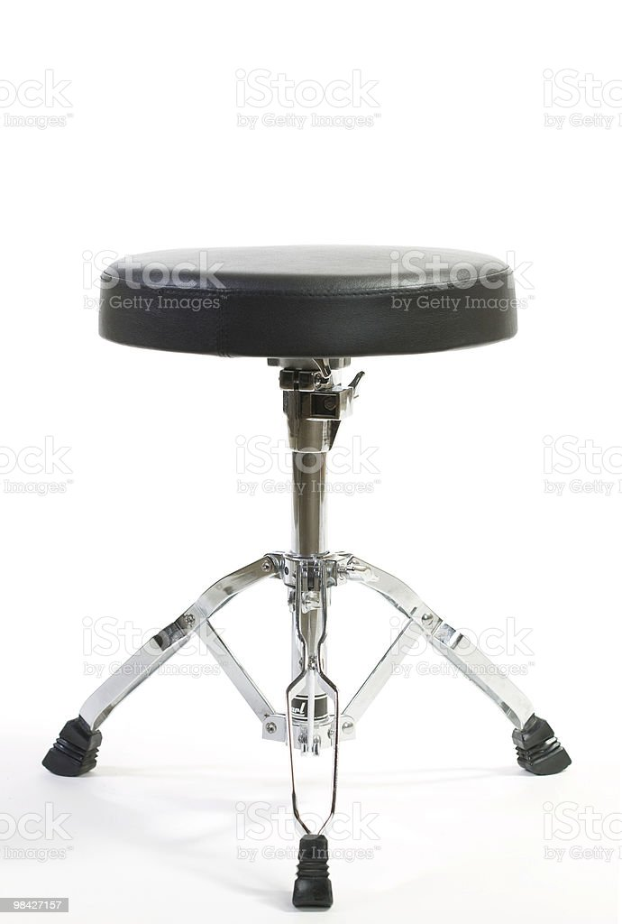 Drum stool royalty-free stock photo