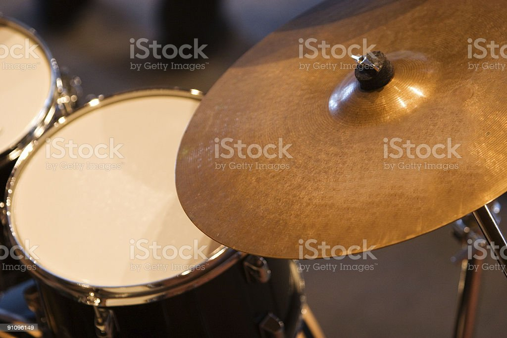 Drum Symbol stock photo