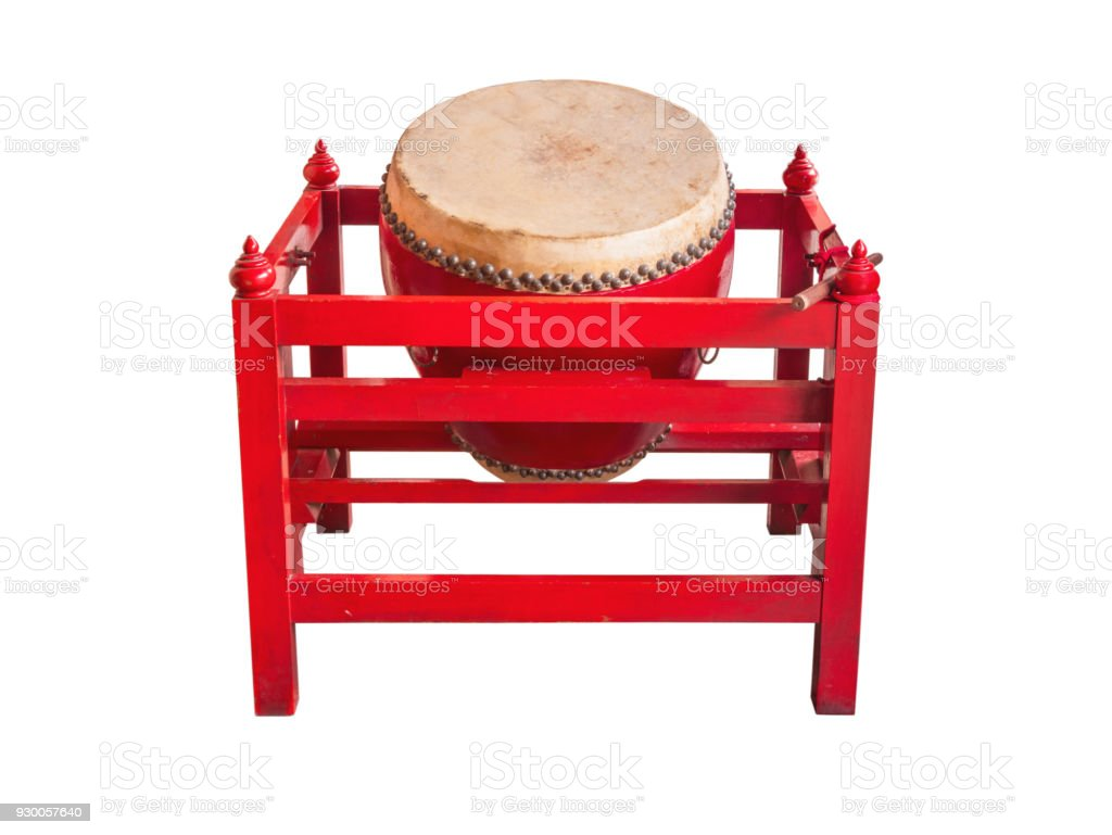 Drum tells the time in ancient times, stock photo