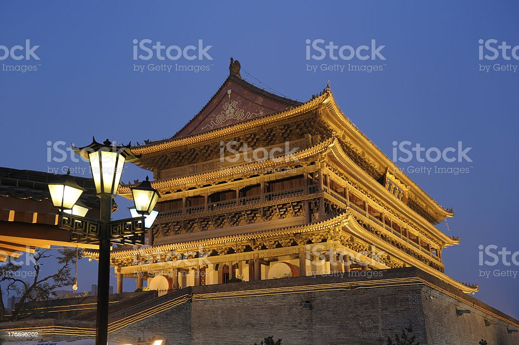 Drum tower royalty-free stock photo