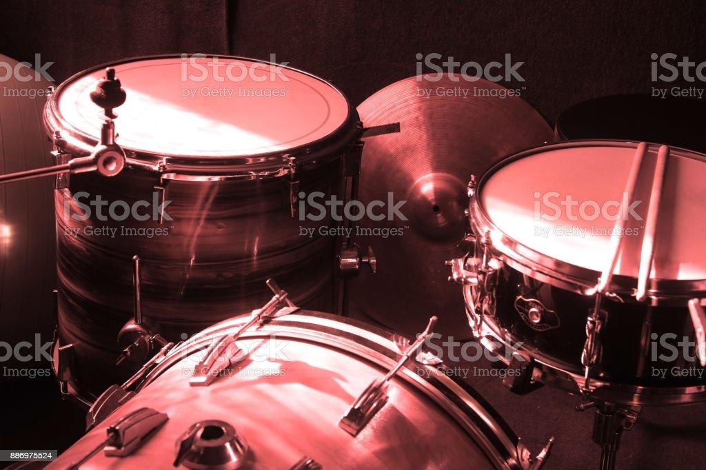 Drumers conceptual image stock photo
