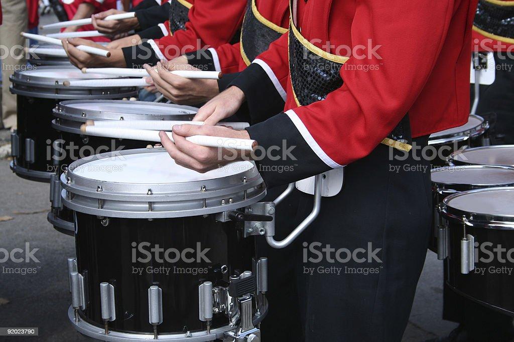 drumline stock photo