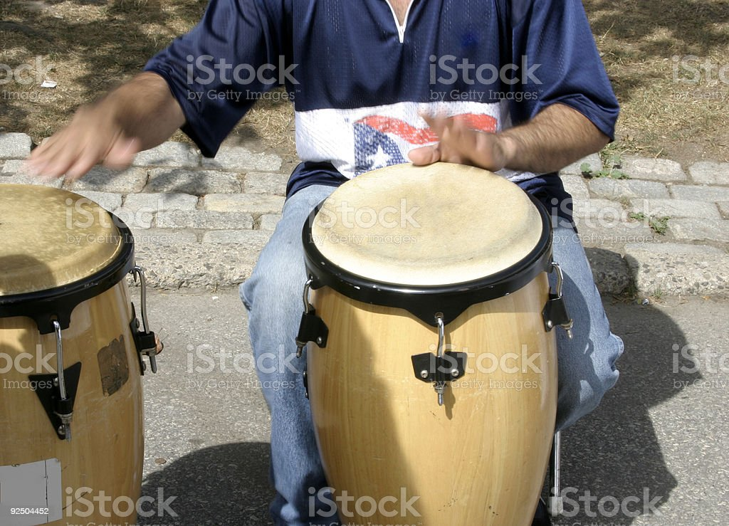 Drummer 2 royalty-free stock photo