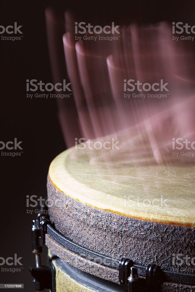 Drumming hands 2 royalty-free stock photo