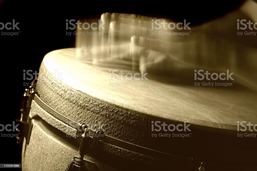 Drumming manos 8 - foto de stock