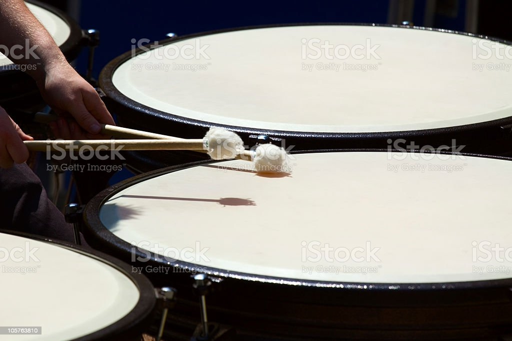 Drumming - foto de stock