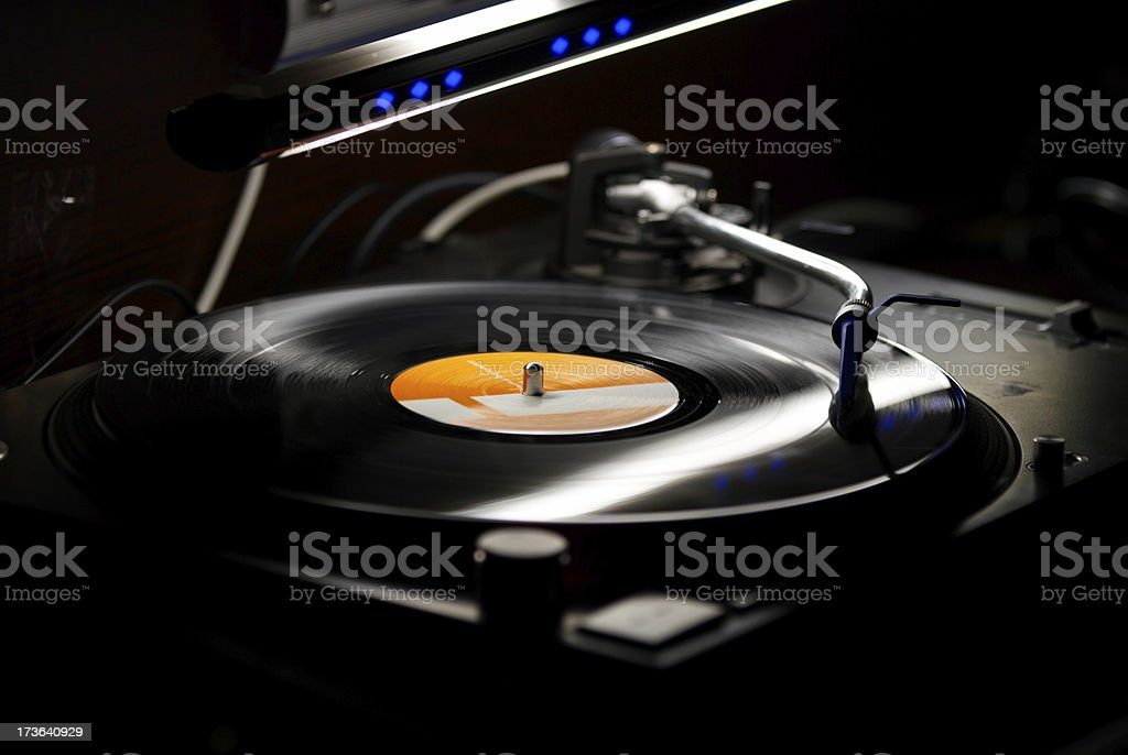 drum'n'bass royalty-free stock photo
