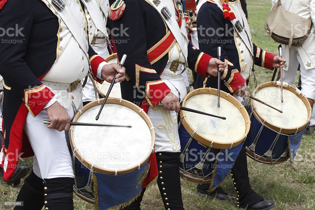 Drums on Parade royalty-free stock photo