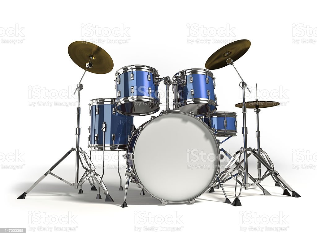 Drums stock photo