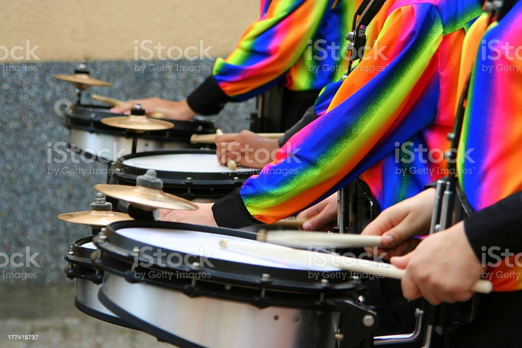 Drums royalty-free stock photo