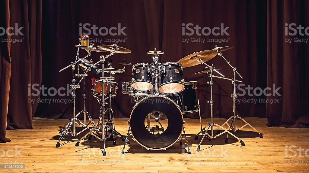 Drums Set stock photo