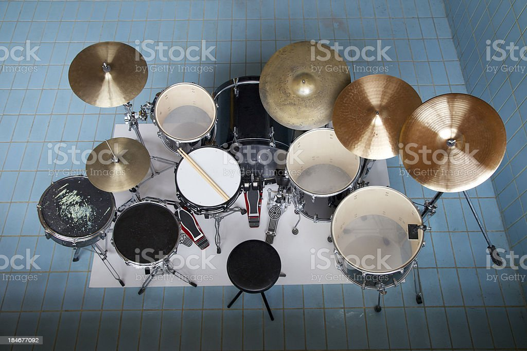 Drumset From Above Stock Photo More Pictures Of Above Istock