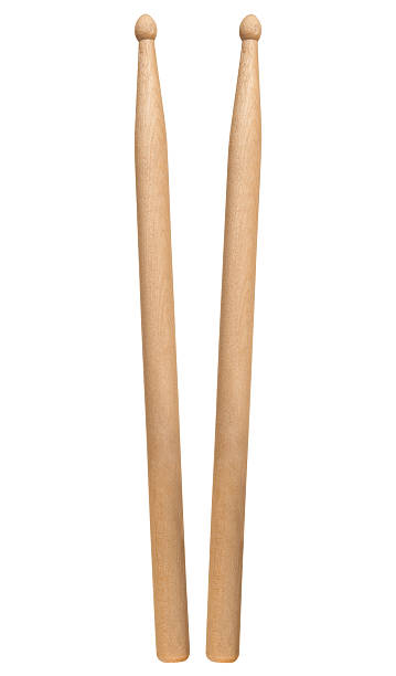 drumsticks drumsticks on white background drumstick stock pictures, royalty-free photos & images