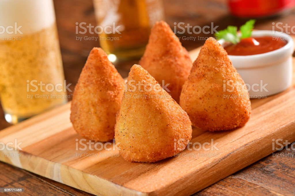 Coxinhas stock photo