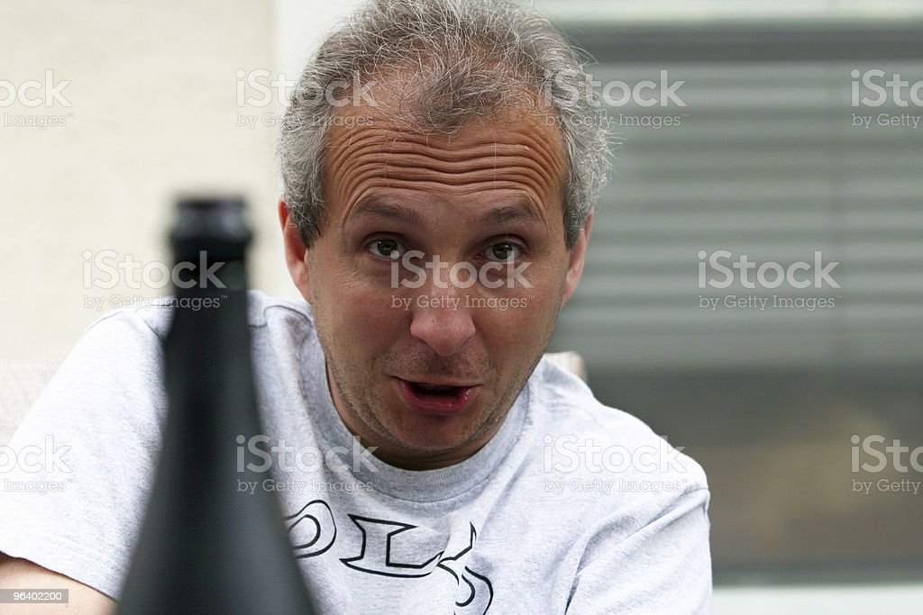 Drunk man - Royalty-free Addict Stock Photo