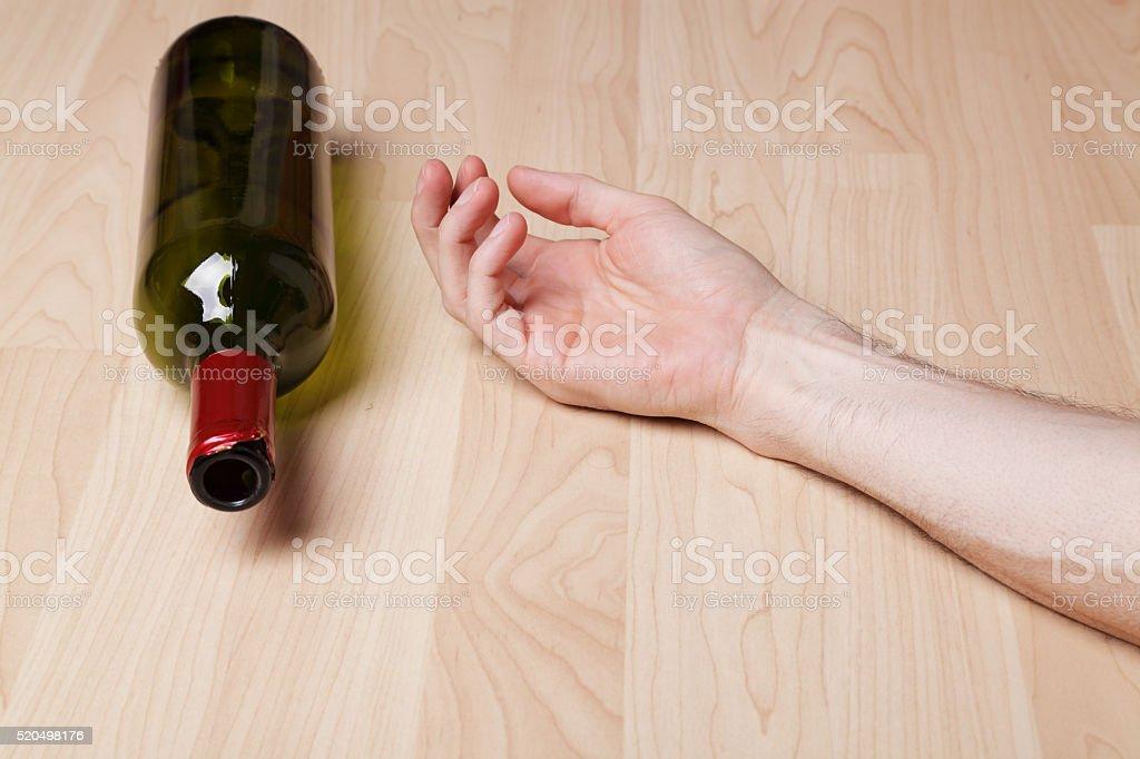 Drunk stock photo