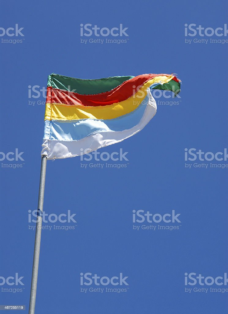 Druze Flag stock photo