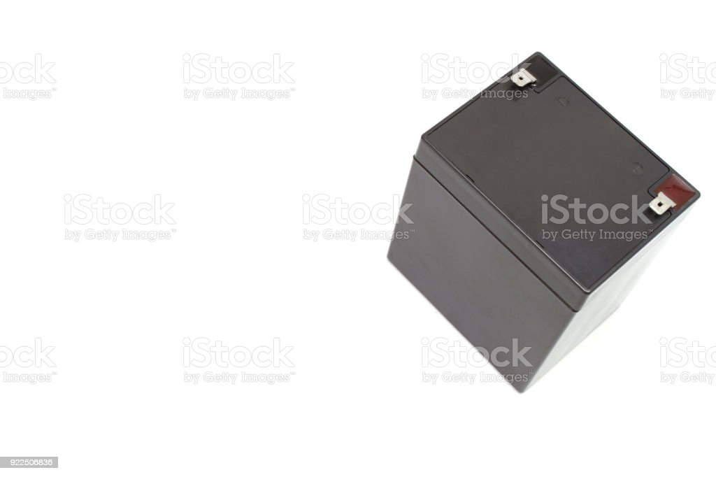 Dry battery. stock photo