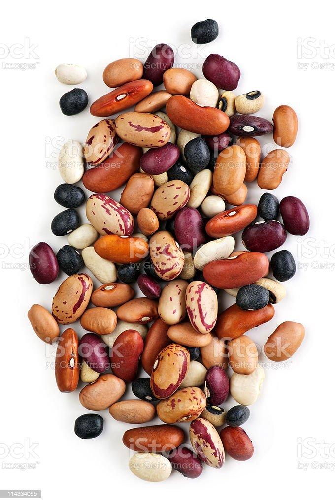 Dry beans stock photo