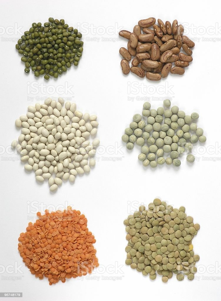 Dry beans royalty-free stock photo