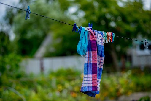 Dry Cloth stock photo