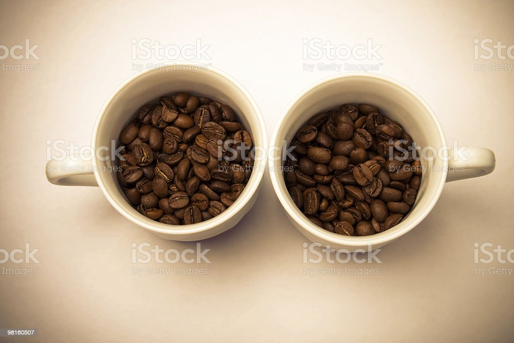Dry coffee royalty-free stock photo