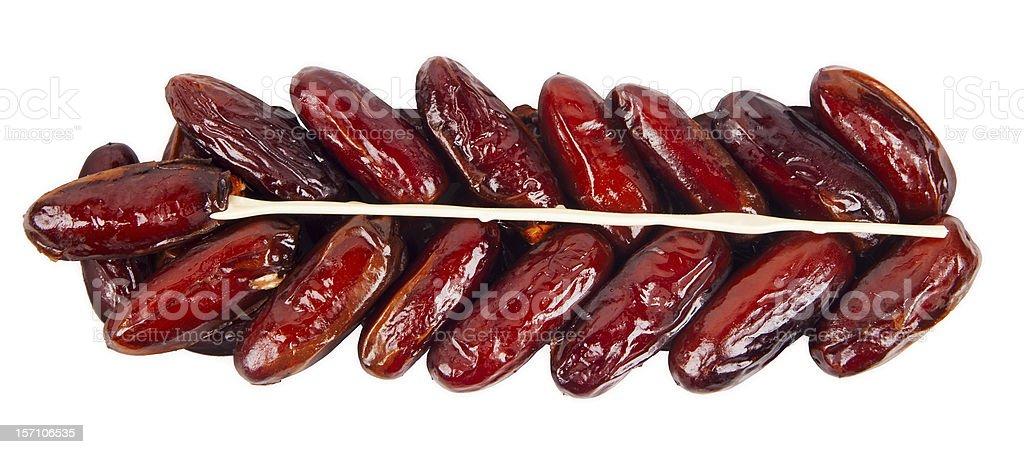 Dry dates royalty-free stock photo