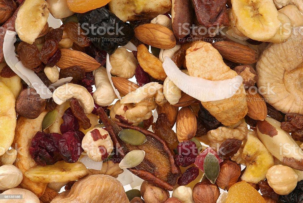 Frutta secca e a guscio foto stock royalty-free