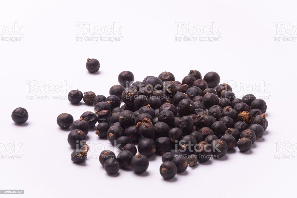 Secar Juniper berry - foto de stock