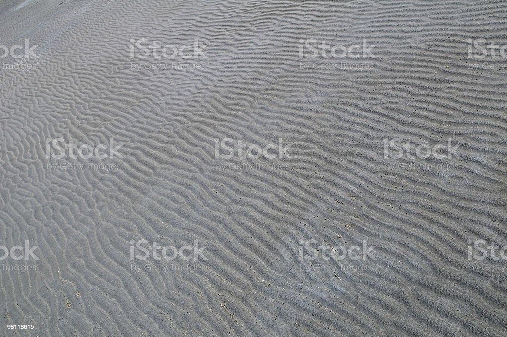 Il letto di un lago prosciugato astratto foto stock royalty-free