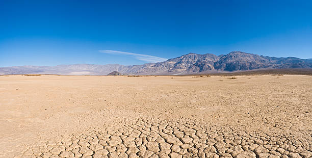 Dry lake bed in desert  lake bed stock pictures, royalty-free photos & images