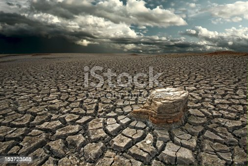 istock Dry lake bed 153723668