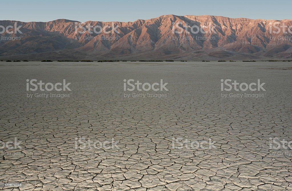Trockenen lake Bett – Foto