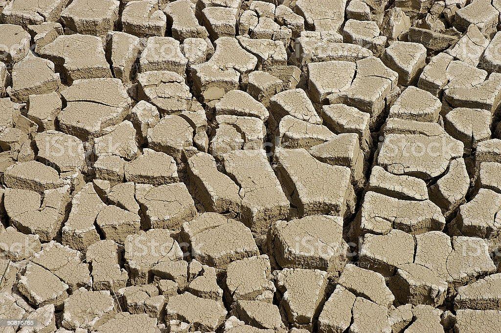Dry Lakebed stock photo