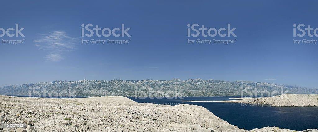 Suchych Krajobraz w Chorwacji zbiór zdjęć royalty-free