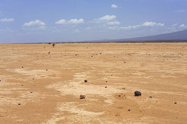 Trockenen Landschaft in die Danakil Wüste – Äthiopien. 0188 – Foto