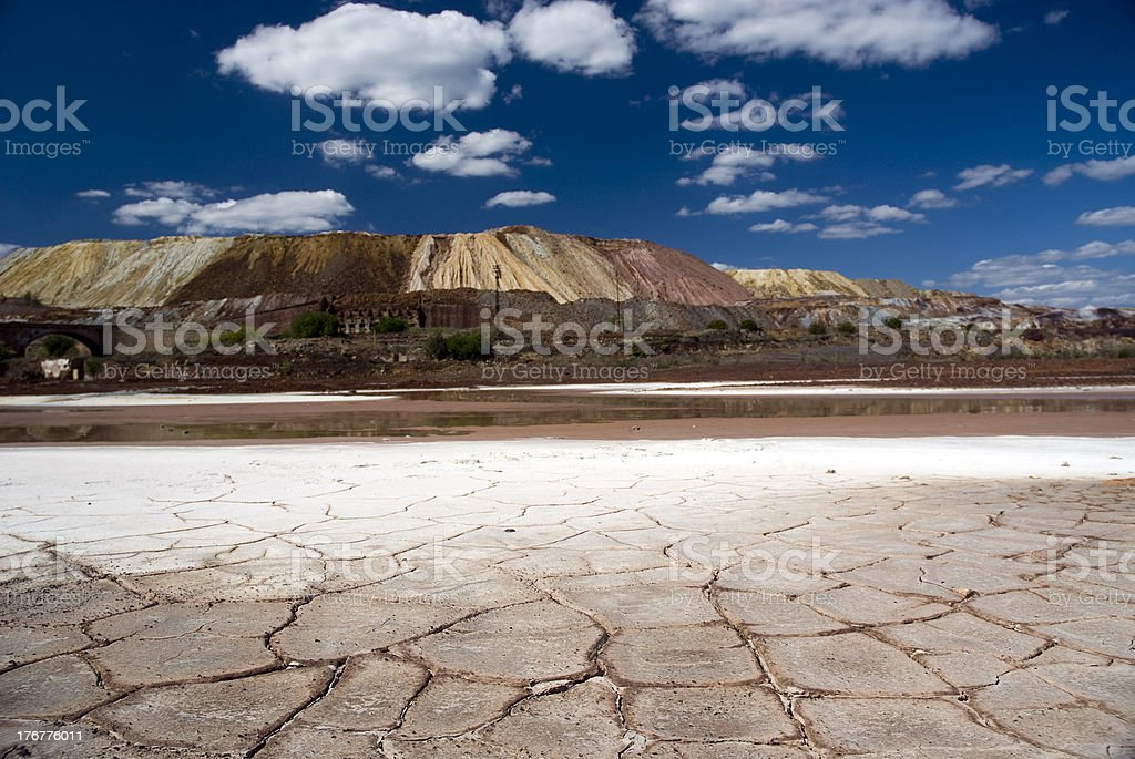 Dry landscape royalty-free stock photo