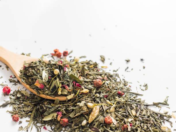 Dry leaves of sencha green flower tea with cowberry leaf red currant picture id1091682614?b=1&k=6&m=1091682614&s=612x612&w=0&h=tfha1y1f96kigigqogk7wkoo5xysnbfcb9im394siwo=