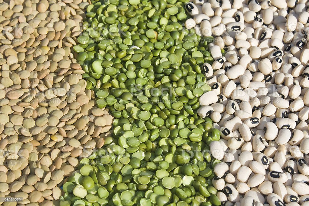 Dry Legumes royalty-free stock photo