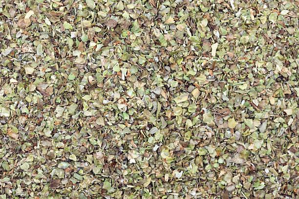 dry marjoram stock photo