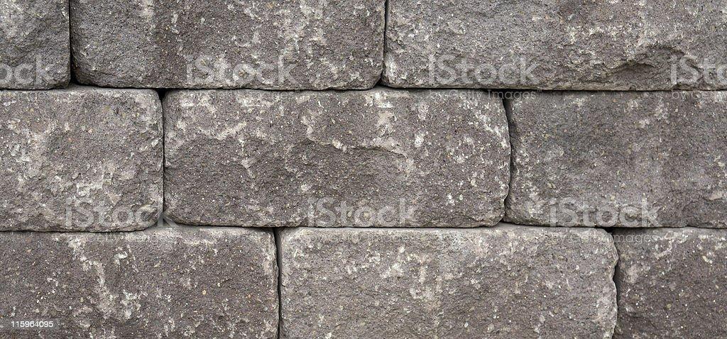 dry masonry wall detail royalty-free stock photo